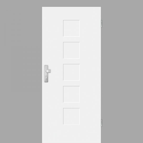 Pura 04 Wohnungstüren / Schallschutztüren RAL 9010 Weißlack