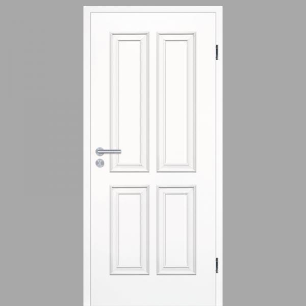 Melance 04 Landhaustüren & Stiltüren mit Zarge RAL 9010 CPL Weißlack
