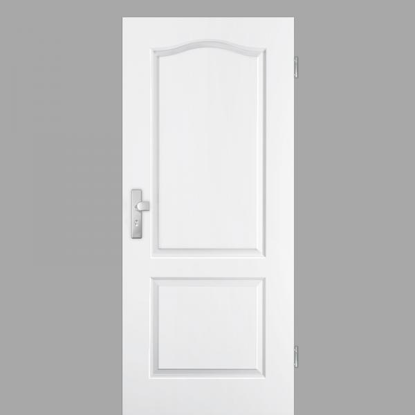 Elegance 02-B Wohnungstüren / Schallschutztüren RAL 9010 Weißlack