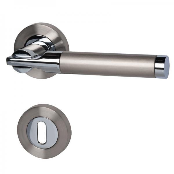 Kairo - R - Türdrücker / Rosettengarnitur - Südmetall GmbH