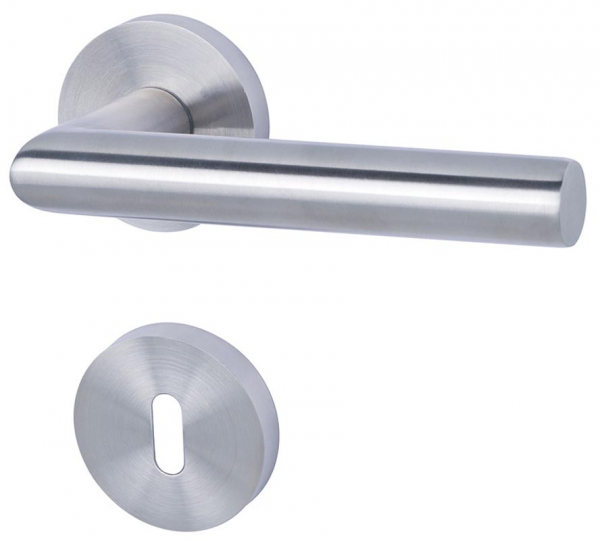 Moskau II - R Basic - Türdrücker / Rosettengarnitur - Südmetall GmbH