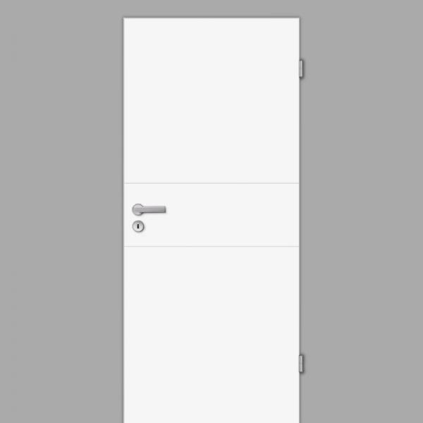Mala 11 Zimmertür / Innentür RAL 9003 Weißlack - Designtür