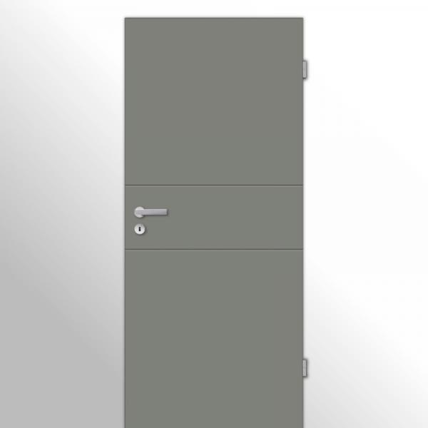 Mala 11 Zimmertür / Innentür RAL 7073 Lavagrau - Designtür
