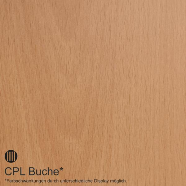 Selicia 1 Landhaustür / Stiltür CPL Buche