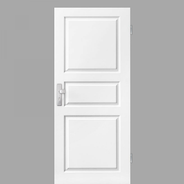 Elegance 03 Wohnungstüren / Schallschutztüren RAL 9010 Weißlack
