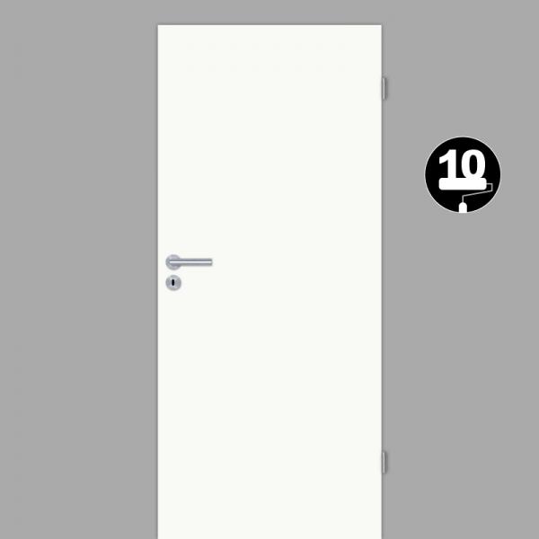 Weißlack 10 Zimmertür / Innentür Weiss CPL  RAL 9010