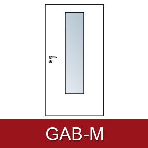 Lichtausschnitt für Zimmertüren Gab-m