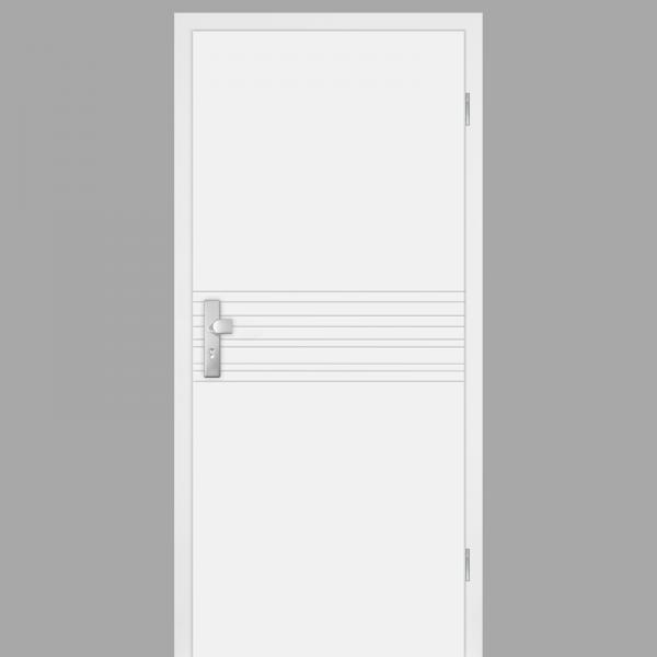 Mala 18 Wohnungstüren / Schallschutztüren mit Zarge CPL RAL 9010