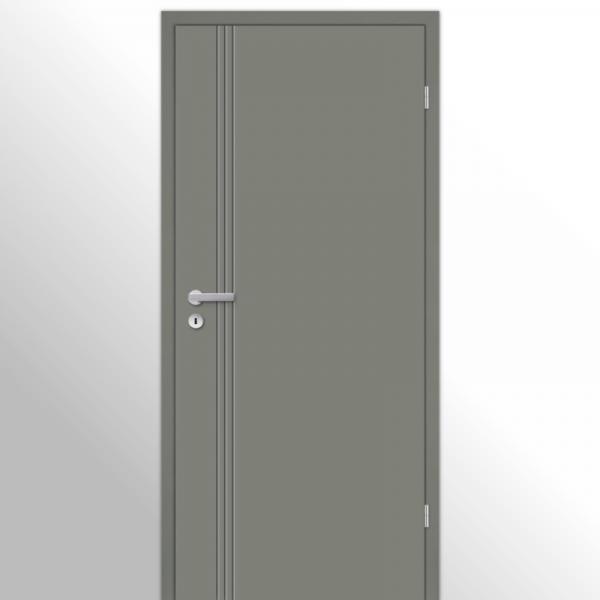 Mala 16 Zimmertür / Innentür RAL 7073 Lavagrau - Designtür