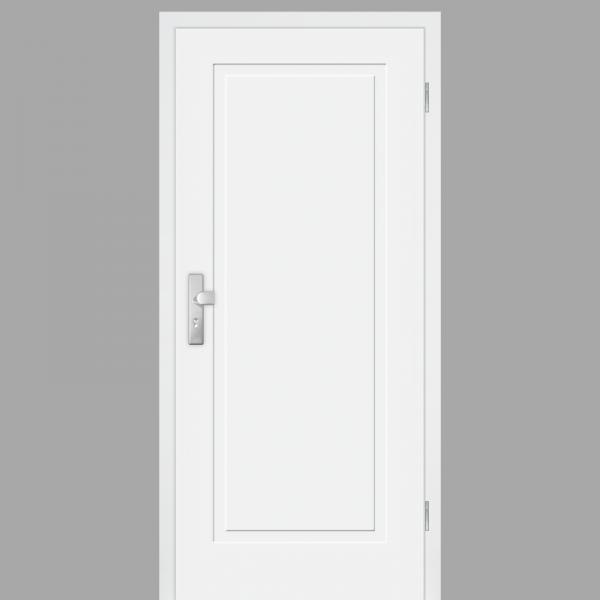Cala 01 Wohnungstüren / Schallschutztüren mit Zarge CPL RAL 9010Cala 01 Wohnungstüren / Schallschutztüren mit Zarge CPL RAL 9010