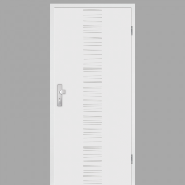 Mala 14 Wohnungstüren / Schallschutztüren mit Zarge CPL RAL 9010