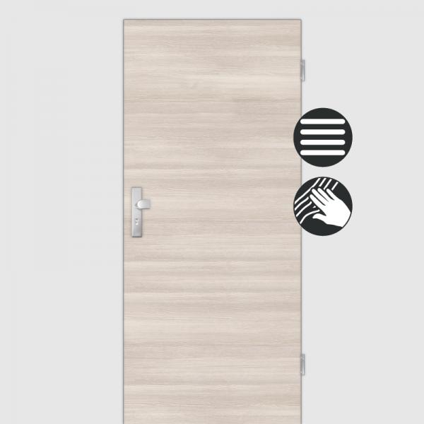 Lärche Crema Wohnungstüren / Schallschutztüren CPL Maserung Quer
