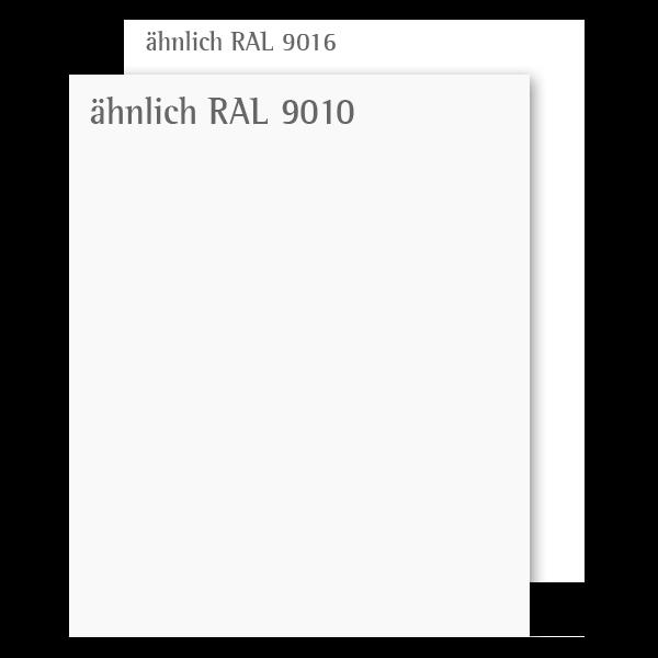 Weißlack 10 Mustertafel für Zimmertüren & Türzargen CPL RAL 9010  - tuerenmarkt24