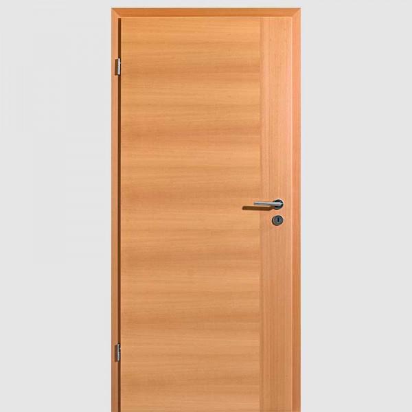 Buche Quirin 2 Echtholzfurnierte Innentür / Zimmertür Furnier mit Zarge - Lebo