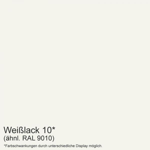 Weißlack Mustertafel für Zimmertüren & Türzargen Dekor RAL 9010  - tuerenmarkt24