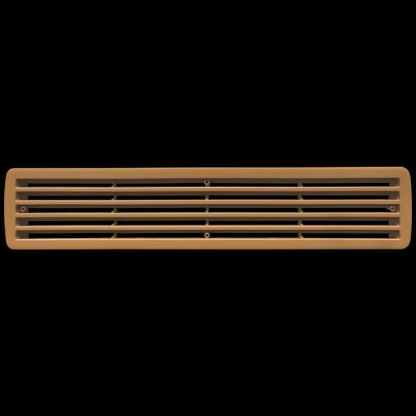 Buche - Kunststoff - Lüftungsgitter / Lamellengitter