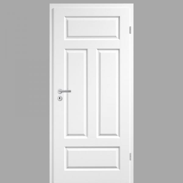 Elegance 04-Q Landhaustür / Stiltür RAL 9010 Weißlack